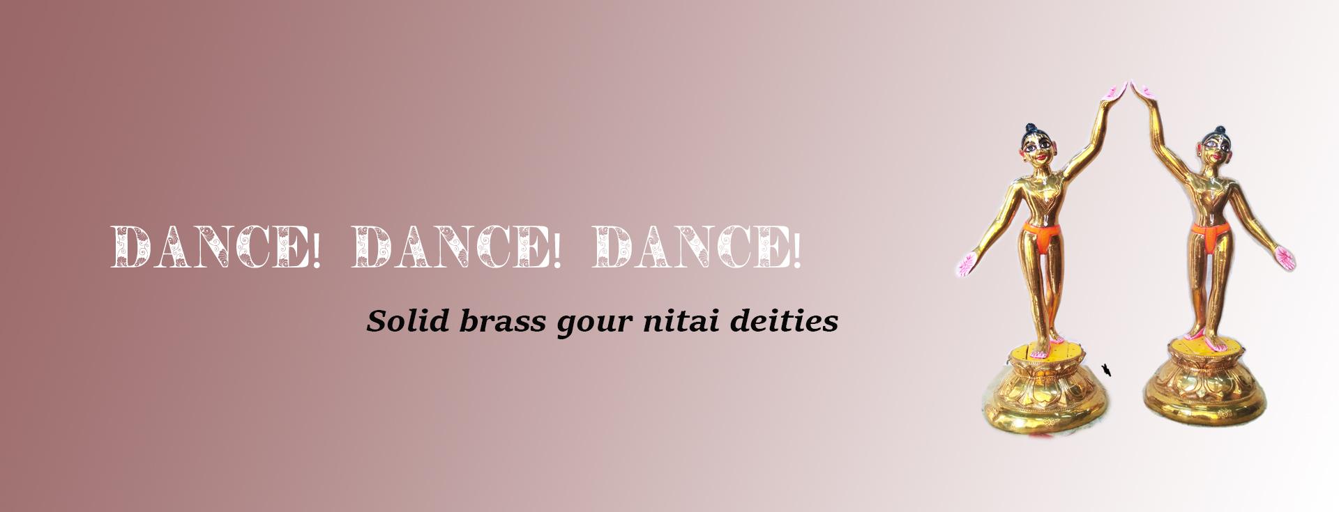 Brass Gour Nitai