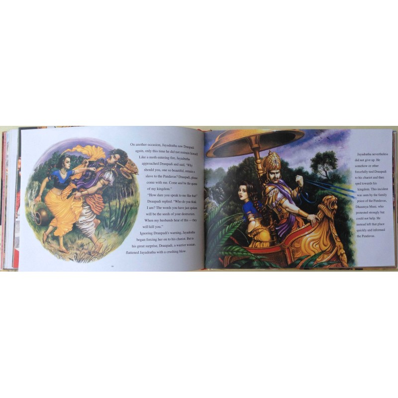 Illustrated Bhagavatam Stories