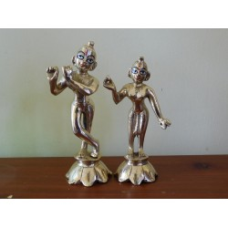 "Radha Krishna Brass 5"""