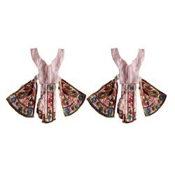 "Gour Nitai Dress 4-6"" Size"