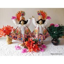 "Gour Nitai Dress 4-6"" Inch Size"
