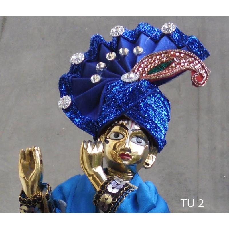 Deep Blue Turban