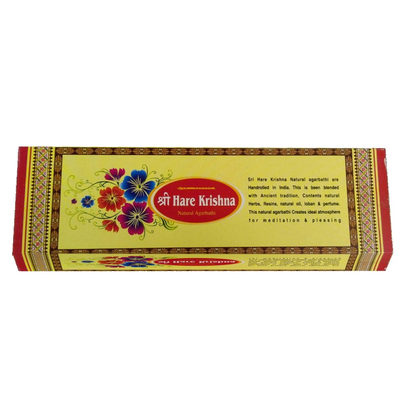 Hare Krishna Natural Incense 10 Flavors