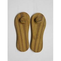 Wooden Deity Shooes