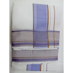 Fancy South Indian Dhoti and Chadar