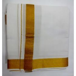 Golden Border Dhoti