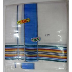 Fancy South Indian Dhoti and Chadar 07