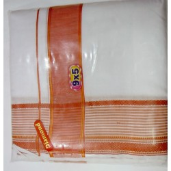Fancy South Indian Dhoti and Chadar 08