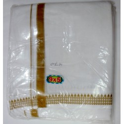 Fancy South Indian Dhoti and Chadar 10