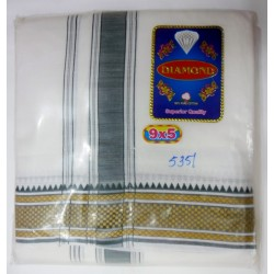 Fancy South Indian Dhoti and Chadar 13