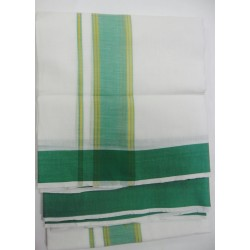 Fancy South Indian Dhoti and Chadar 14
