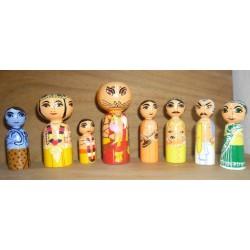 Prahlad Narsimha Wooden Dolls