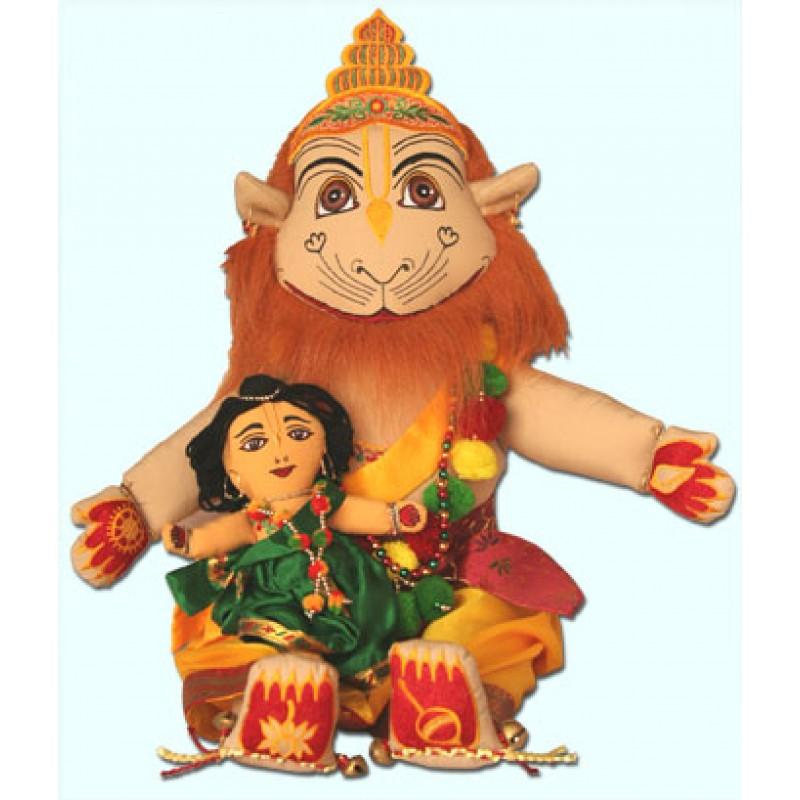 Narsimha with Prahlad Maharaj