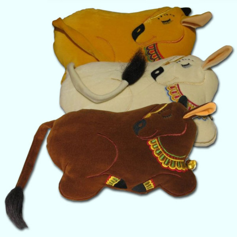 Sleeping Cow Pillow