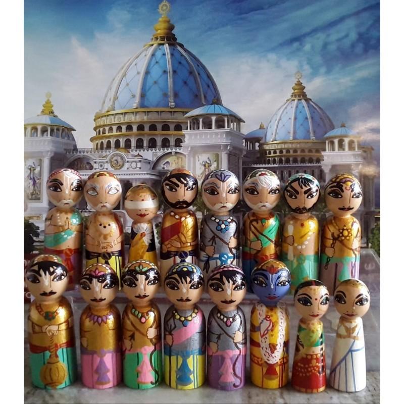 Mahabharat Peg Dolls
