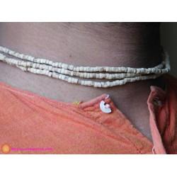 Three Round Neckbead Small Beads