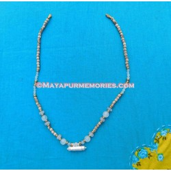 Tulasi Neckbeads with Moonstone