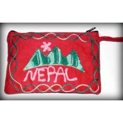 Nepal Red Purse