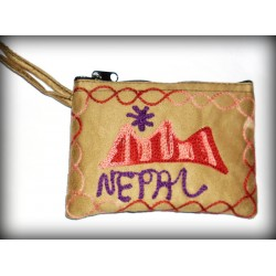 Nepal Brown Purse