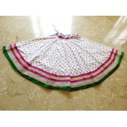 White Flower Skirt