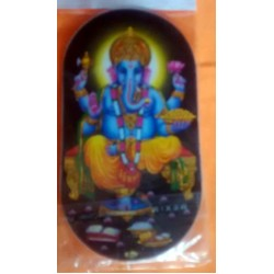 Ganesh Double Sticker - Both Sides