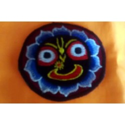 Embroidered Lord Jagannath Sticker Small