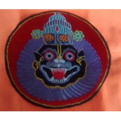 Embroidered Lord Narsimhadev Sticker