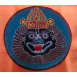 Embroidered Lord Narsimhadev Sticker 1