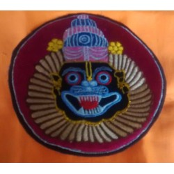 Embroidered Lord Narsimhadev Sticker 2