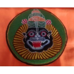 Embroidered Lord Narsimhadev Sticker 3