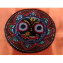 Embroidered Lord Jagannath Sticker 1