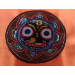 Embroidered Lord Jagannath Sticker 1