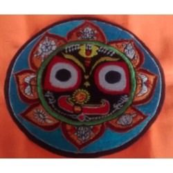 Embroidered Lord Jagannath Sticker 2