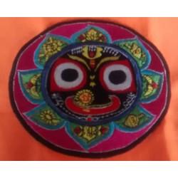 Embroidered Lord Jagannath Sticker 3
