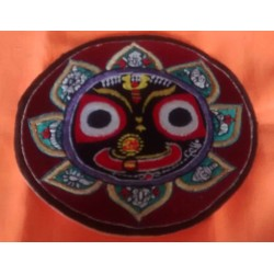 Embroidered Lord Jagannath Sticker 4